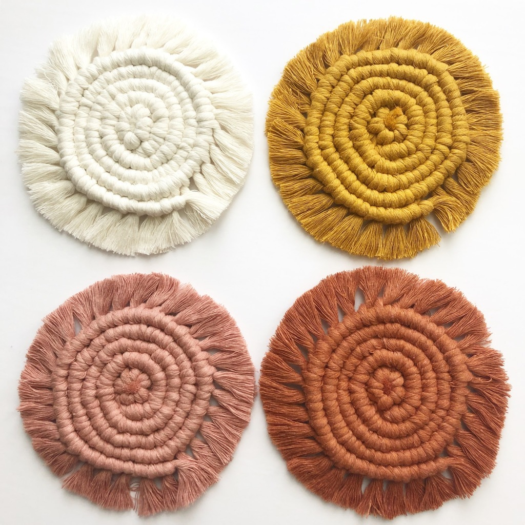 Amanda Pitts fiber sculpture circles