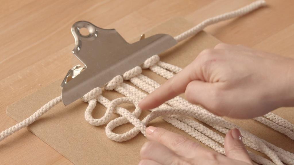 Domestika class Macrame knots