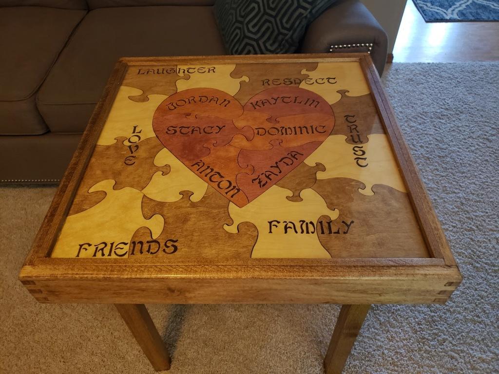 Dominic wedding table