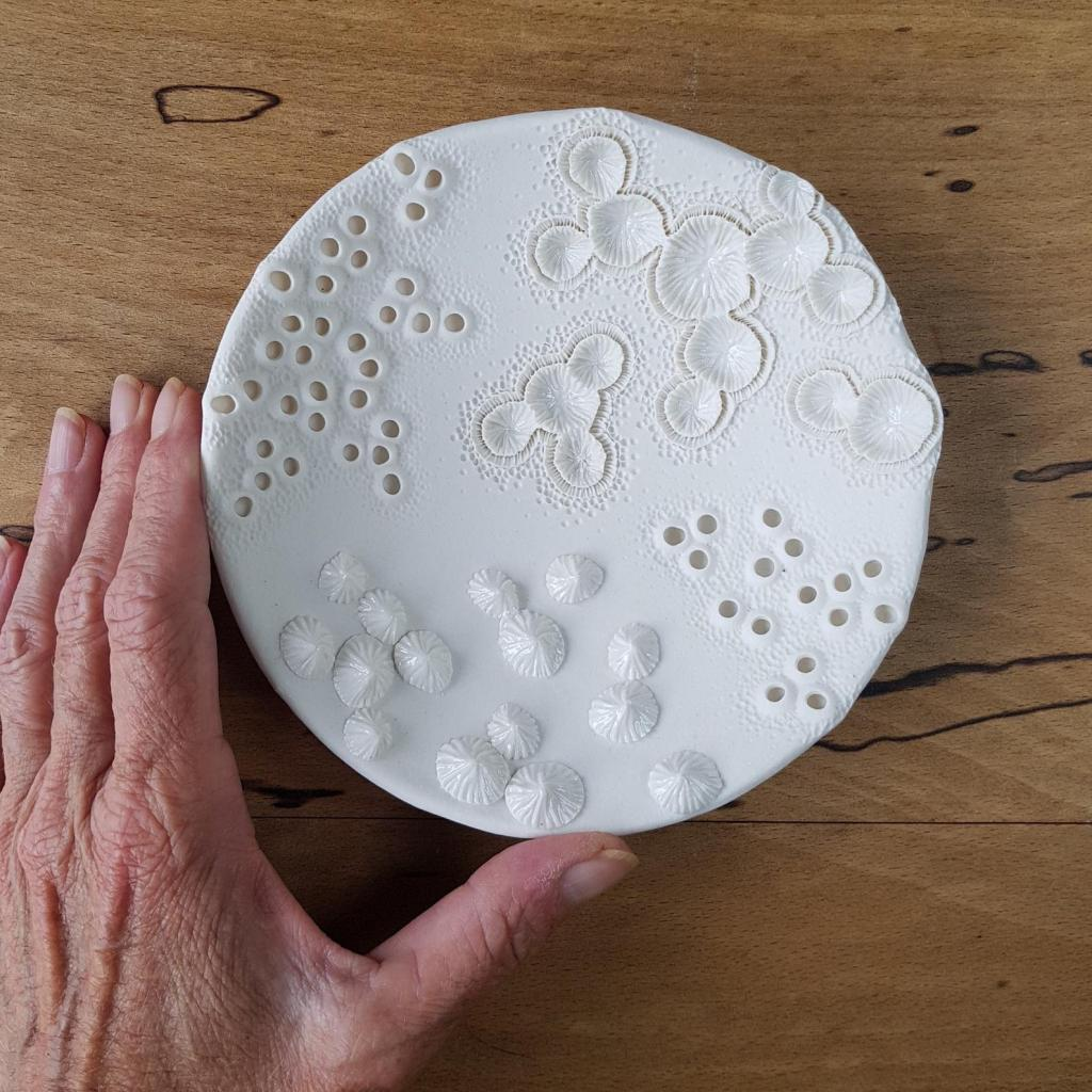 Mairi Stone nature inspired ceramic plate