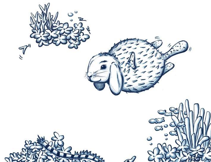 Maria Monasterio dream ichthyology