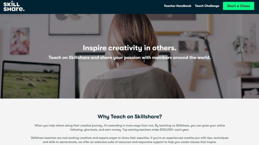 Skillshare vs Domestika for teachers
