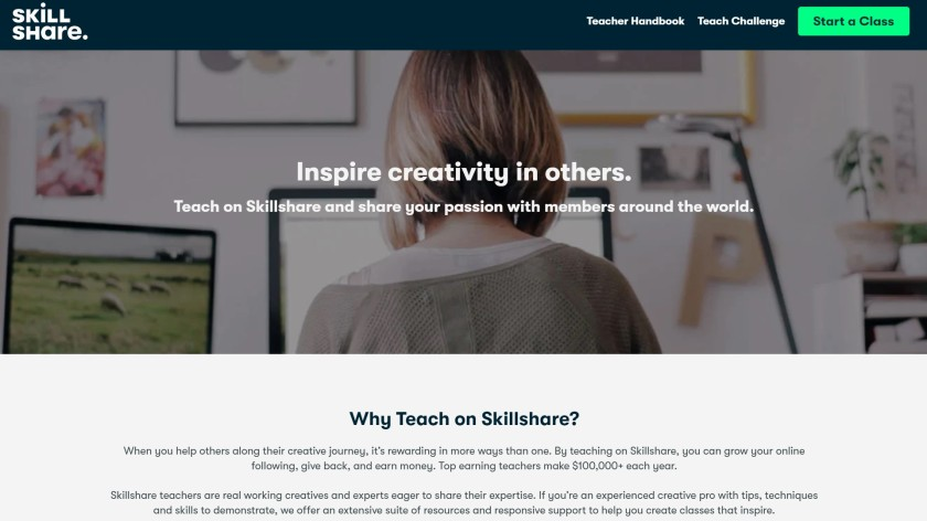 Skillshare for teachers