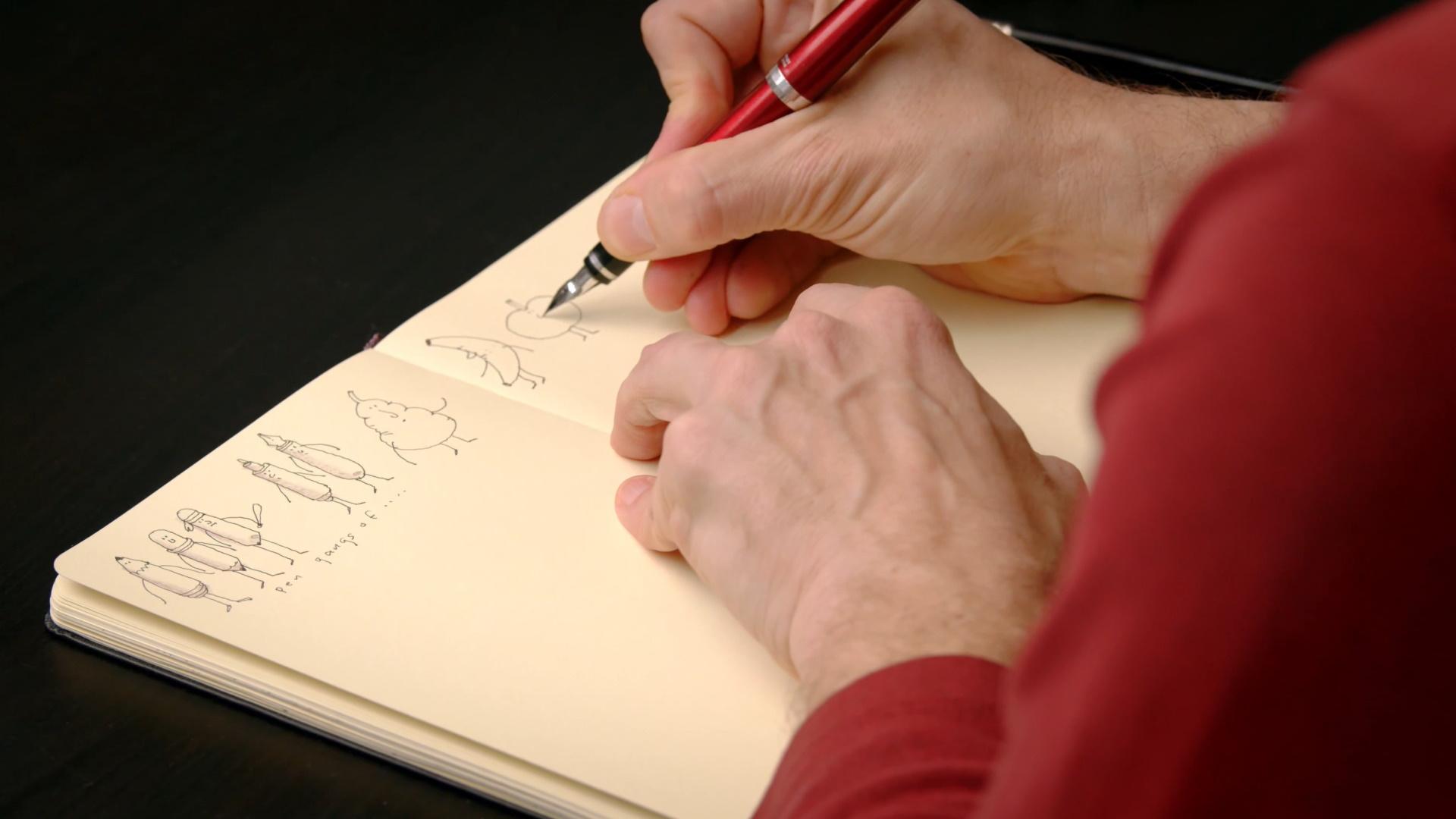 The art of Sketching domestika english illustration course