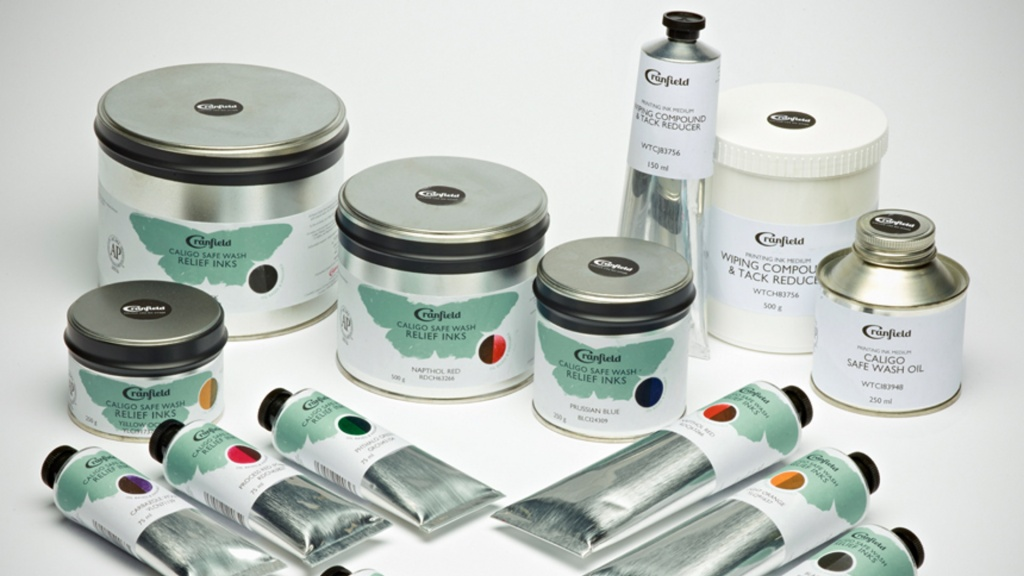 Caligo Safe Wash Relief printmaking inks