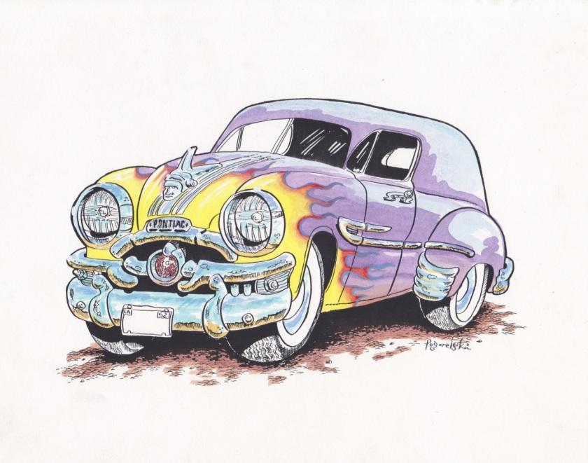 Jon Pogorelskin Pontiac color