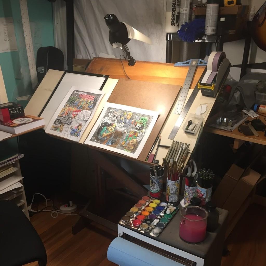 Jon Pogorelskin studio 1