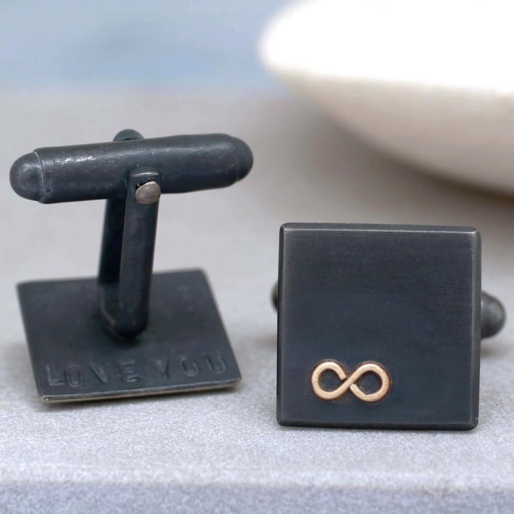 Louy Magroos anniversary cufflinks gift