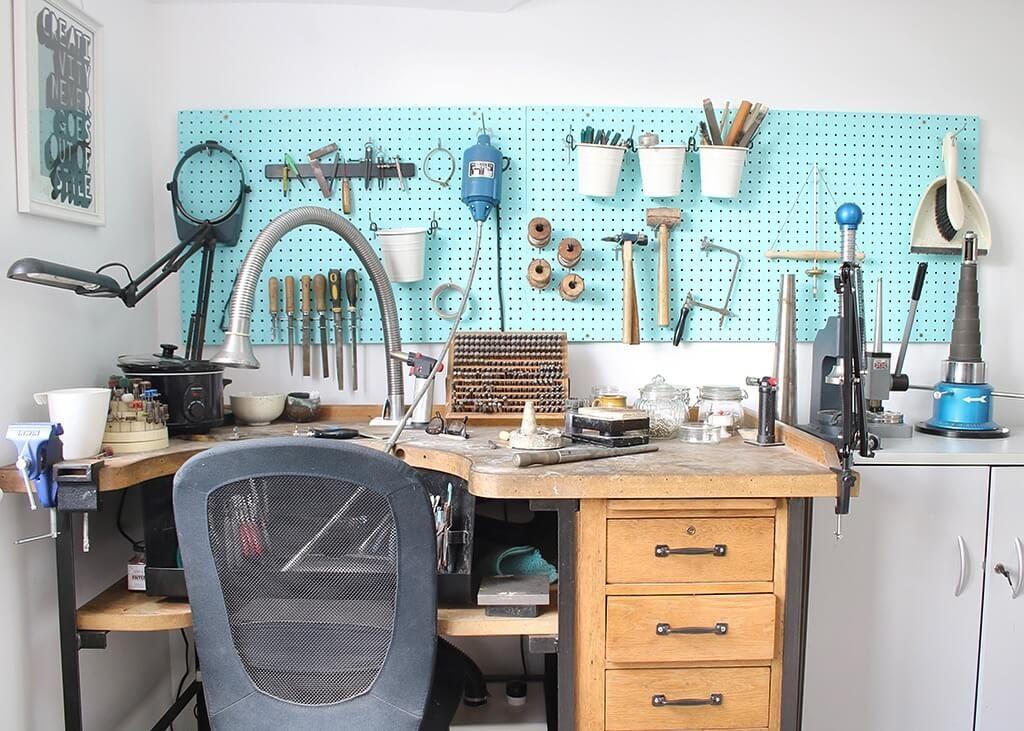 Louy Magroos Jewellers workshop 1