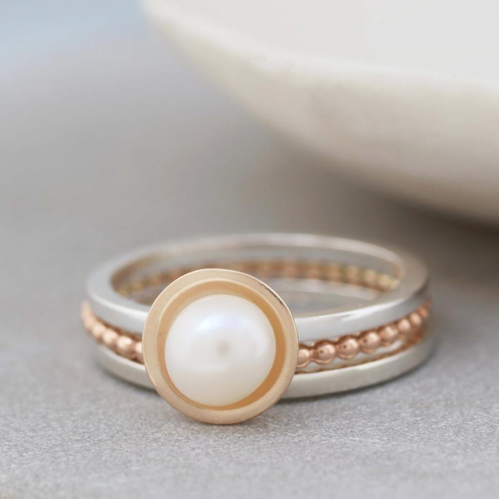 Louy Magroos pearl ring