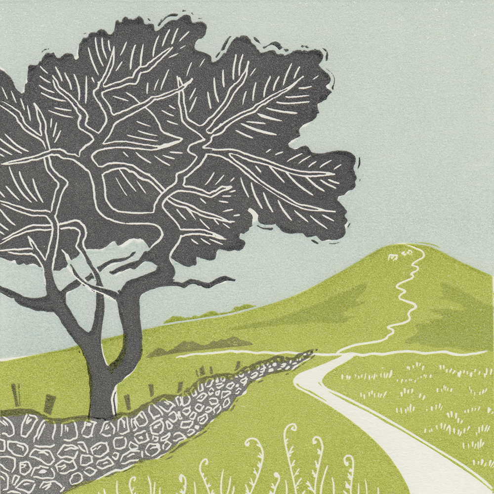 Michelle-Hughes-Towards-Roseberry-Topping-linocut-print-s