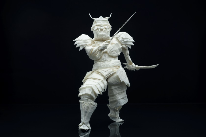 Juho Konkkola Samurai warrior origami