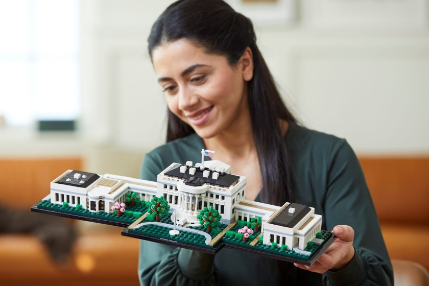 Lego Architecture White House featured