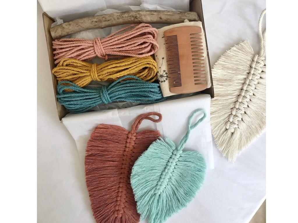 Macrame feather kit by MylittewishShop