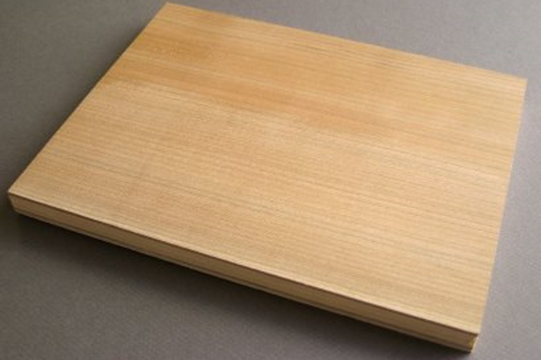 Cherry plywood for printmaking