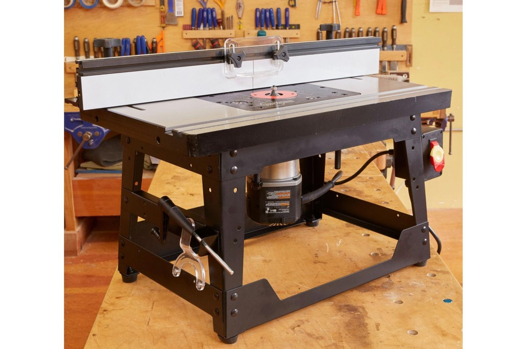StopSaw benchtop router table RT BT