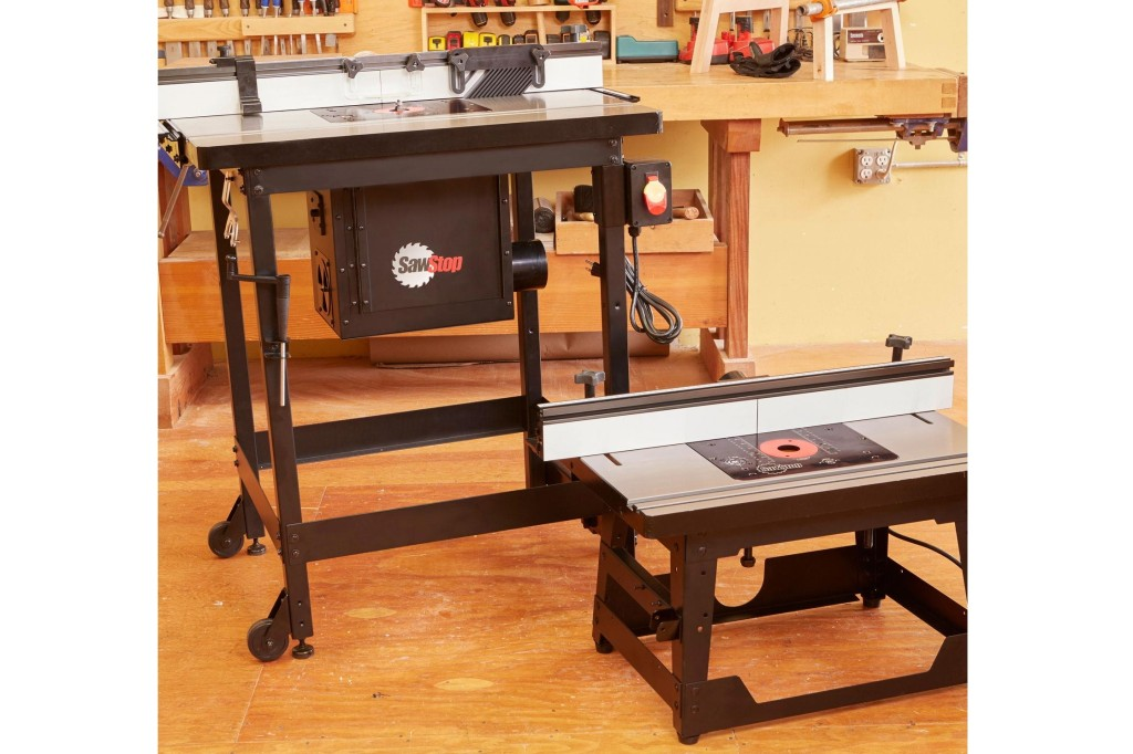 SawStop router tables