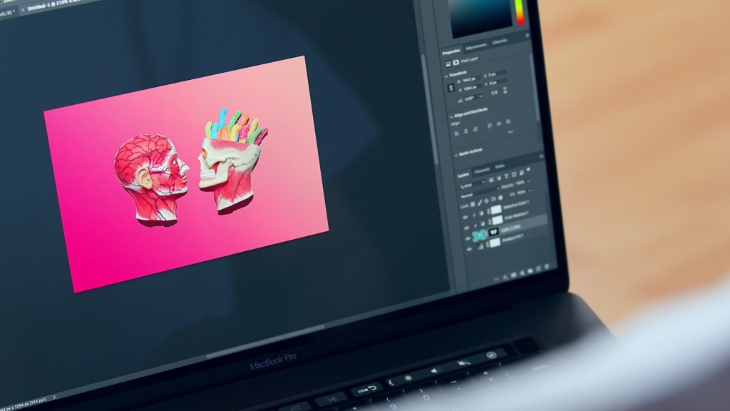 Adobe Photoshop for beginners Domestika course